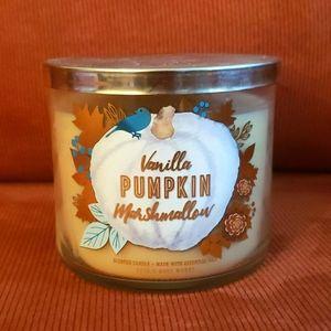 Bath & Bodyworks Vanilla Pumpkin Marshmallow